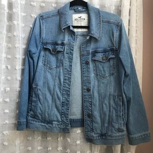Hollister oversized denim jacket
